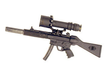 MP5 With Medicom scope (G3 Claw mount ) - Click Image to Close