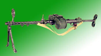 German MG-15 machine gun - Click Image to Close
