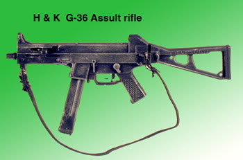 H & K UMP sub machine gun - Click Image to Close