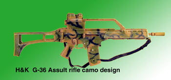H & K G-36 assult rifle - Click Image to Close