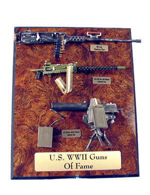 "U.S. WW2 machine guns ""Guns of Fame"" - Click Image to Close"