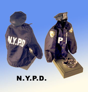 N.Y.P.D. partial uniform
