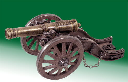 Old Time cannon - Click Image to Close