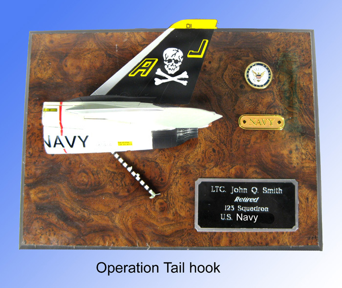 Tail Hook Plaque - Click Image to Close