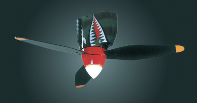 world war 2 P-40 Ceiling fan - Click Image to Close