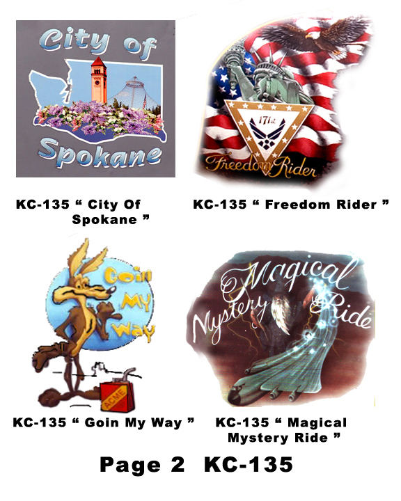 KC-135 Nose Art for mini helmets - Click Image to Close