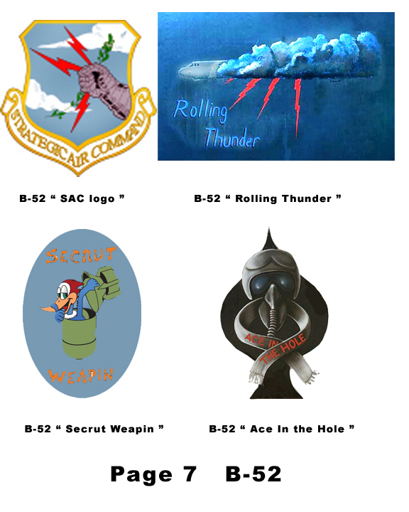 B-52 Nose Art for helmets page 7 - Click Image to Close