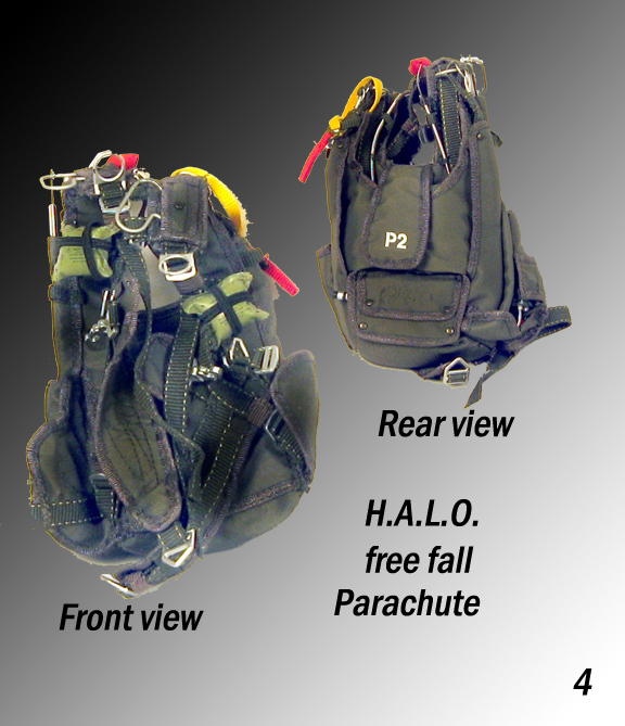 Special forces HALO Paraqchute - Click Image to Close