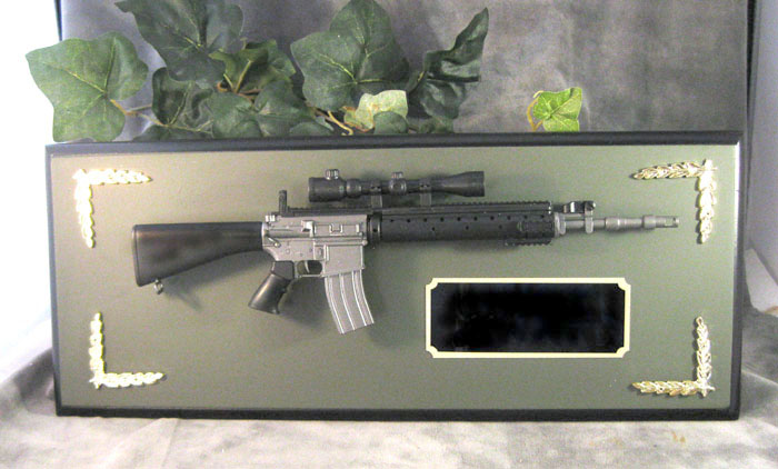 Award 1/3 scale M-16 w/ scope - Click Image to Close
