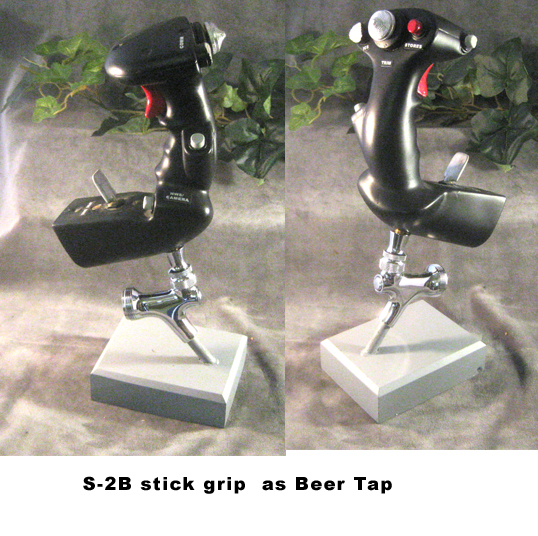 S-2B stick as Beer Tap - Click Image to Close