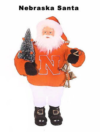 Santa doll Nebraska college