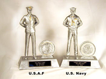 Airman and Sailor at rest position award