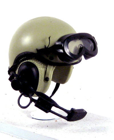 U.S.Army tankers helmet 1/6 scale - Click Image to Close