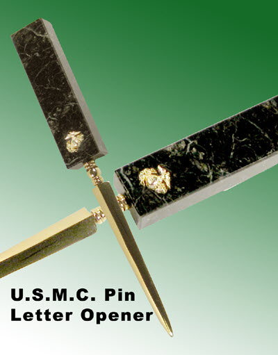 U.S.M.C letter Opener - Click Image to Close
