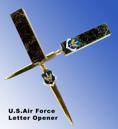U.S.Air Force letter opener - Click Image to Close