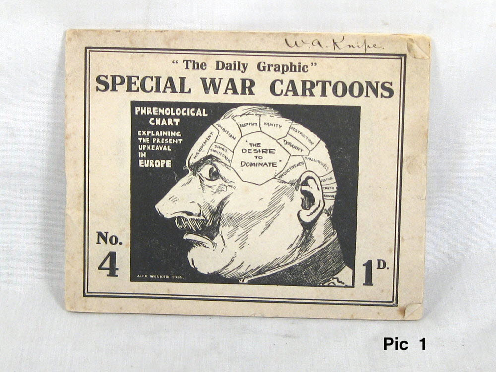 collectable WW1 British cartoon book 1914 - Click Image to Close