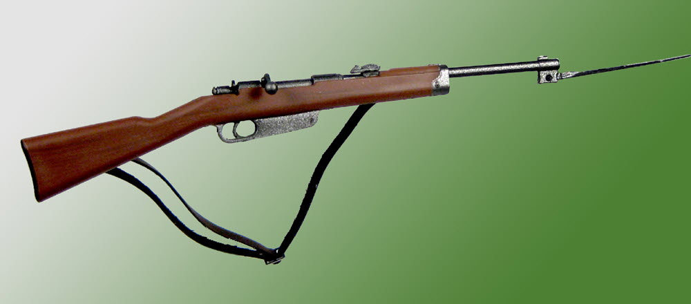 WW2 Italian Carbine with bayonet - Click Image to Close