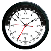 Zulu wall time clock
