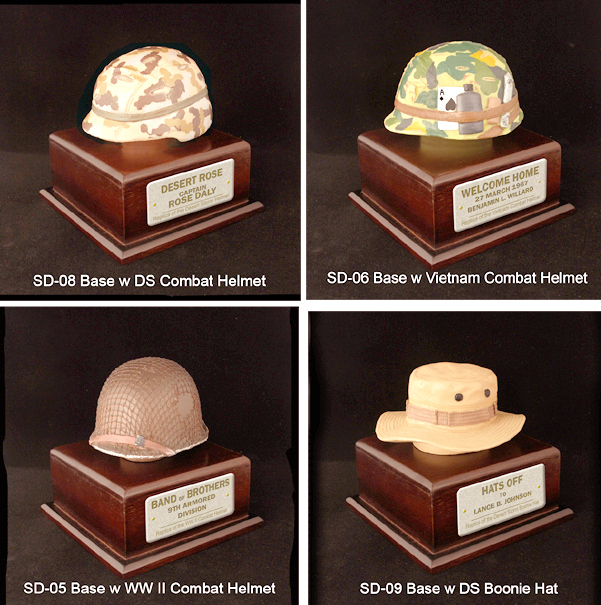 U.S.Military 1/4 scale helmets - Click Image to Close