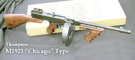U.S. M1921 Thompson SMG Gangster style