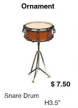 Miniature snare drum - Click Image to Close