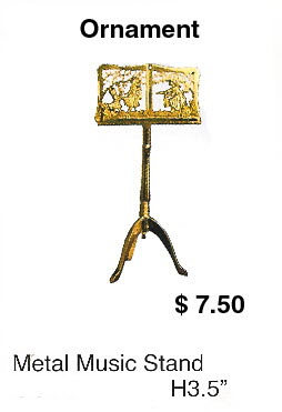Metal music stand - Click Image to Close