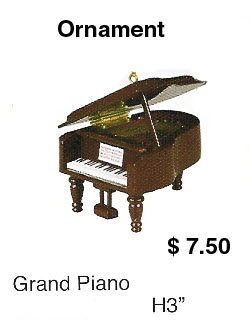 miniature grand piano - Click Image to Close