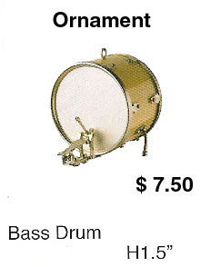Miniature bass drum - Click Image to Close