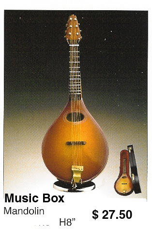miniature Mandolin ( music box )