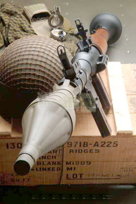Russian RPG-7 Rocket launcher - Click Image to Close