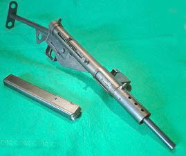 British MK ll Sten gun - Click Image to Close