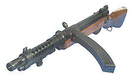Japanese type 100 SMG - Click Image to Close